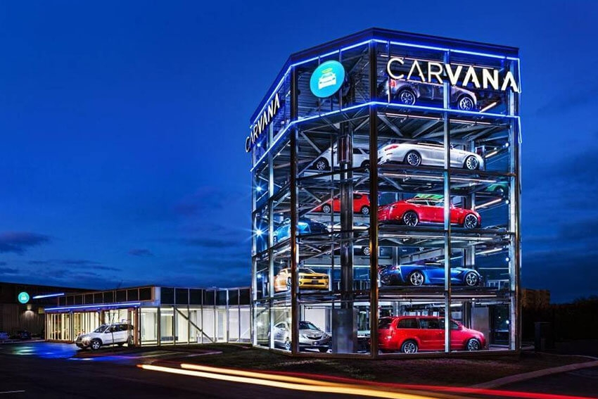 Carvana Expands in Southeast