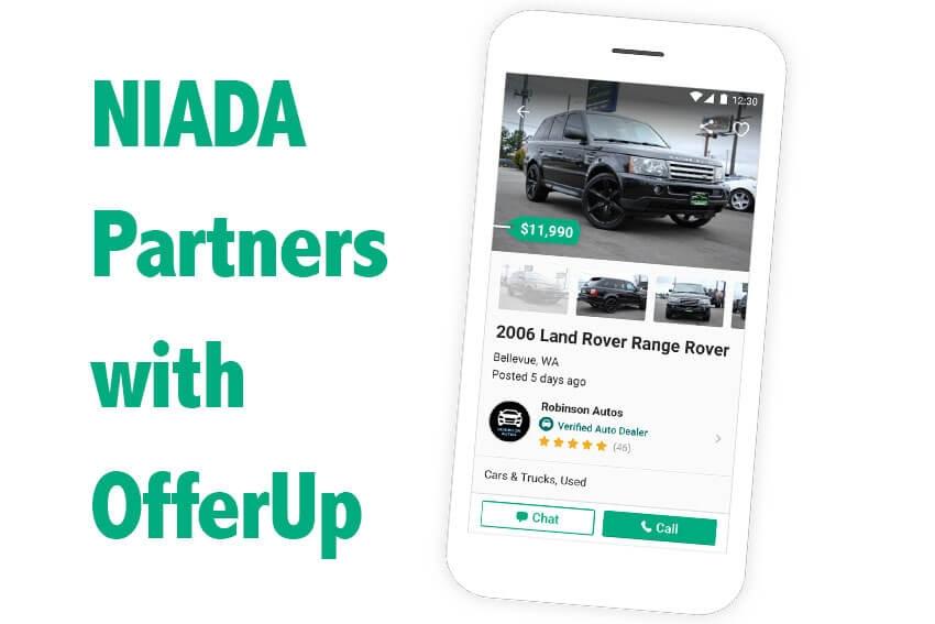 NIADA Partners with OfferUp