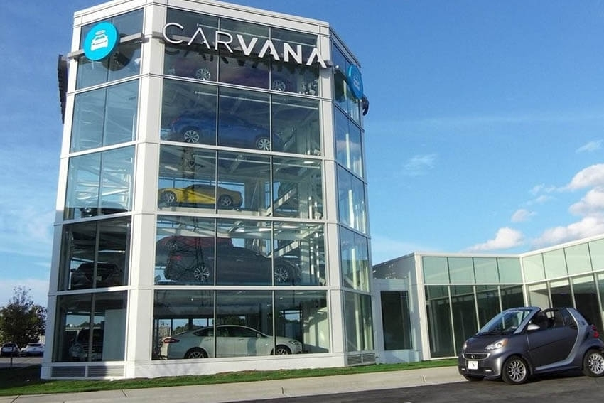 Carvana Issues Notes, Stock Featured