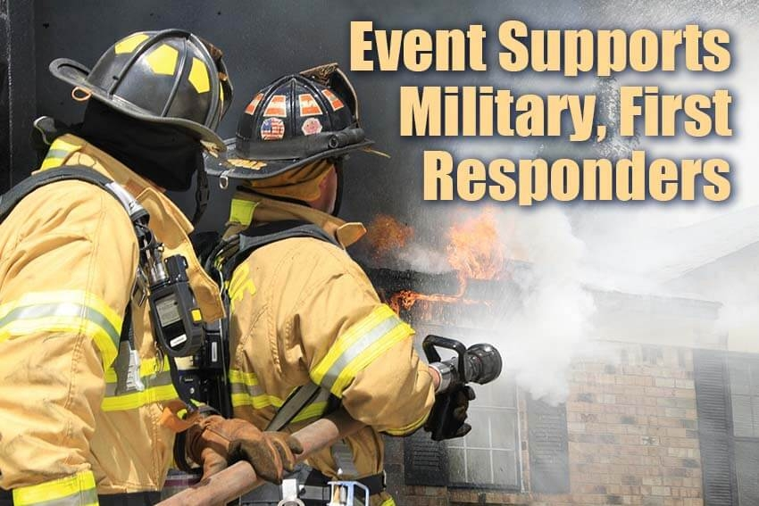 Event Supports Military, First Responders