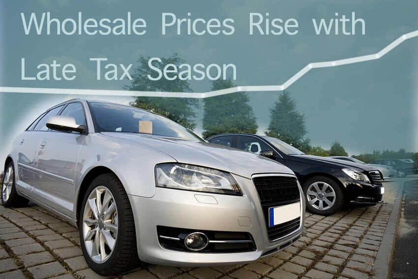 Wholesale Prices Rise with Late Tax Season